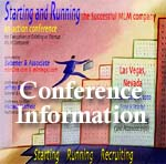 MLM Startup Conference - Ideal for executives of startup or emerging Network Marketing companies.