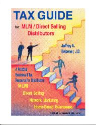TAX GUIDE for MLM/Direct Selling Distributors