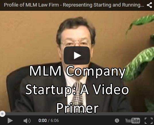 MLM Company Startup: A Video Primer